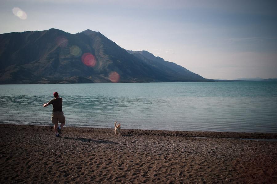 Go get it! Kluane Lake