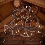 Amazing horn chandelier outside the gift shop!