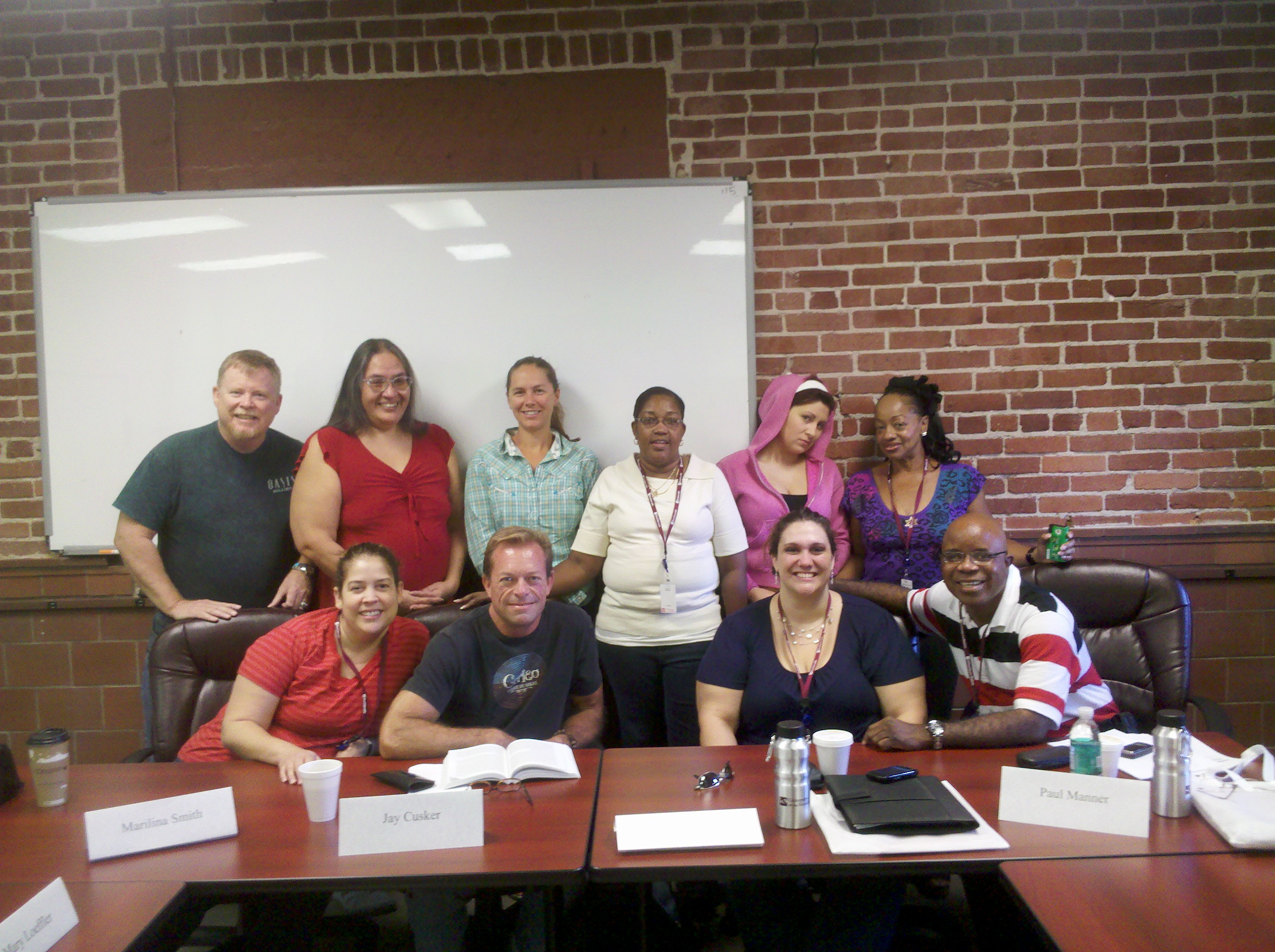 Dr.Lisa Meek and Dr. Tim Rice's ORG 7272 Group Process Weekend Intensive Class