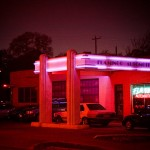 funky neon lights in north Austin