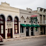 a bit of the old West downtown