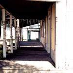a porch hallway