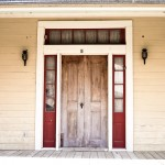 beautiful narrow twin doors