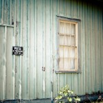love the texture and color of the old wood siding