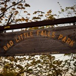 Bad Little Falls Park sign