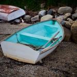 aqua rowboat