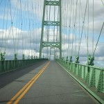 tall, narrow bridge to/from Deer Isle