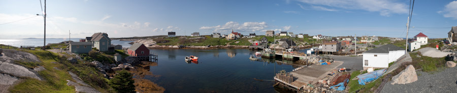Peggy's Cove, NS panorama