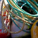 rope and buoys