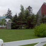 Anne of Green Gables' house (left)