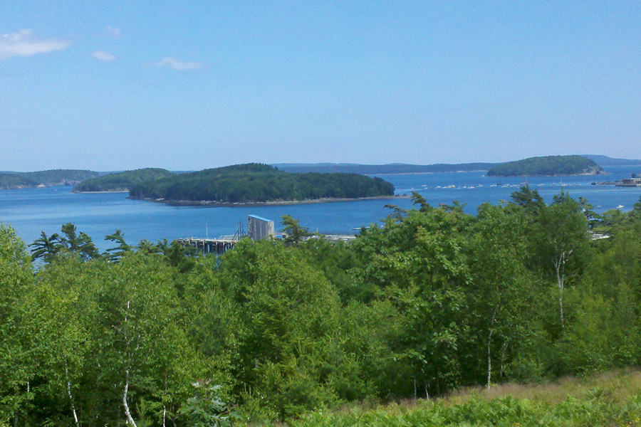 Frenchman Bay as seen from Cadillac Mountain