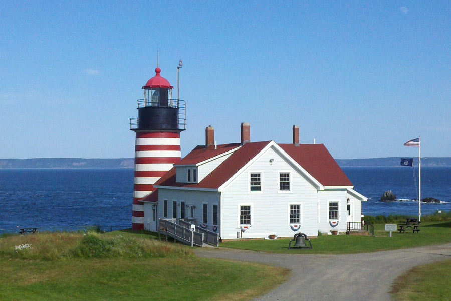 West Quoddy head light and museum
