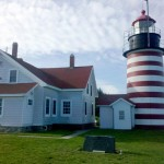 West Quoddy lighthouse and museum, photo by Tim